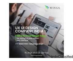UI UX Web Design Company in Chennai - Wings Design