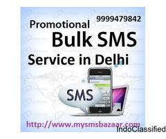 Promotional Bulk SMS Service in Delhi