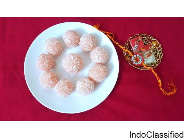 rose coconut ladoo recipe
