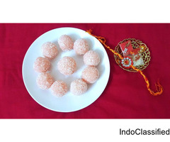 rose coconut ladoo recipe