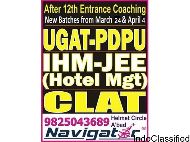 NAVIGATOR - UGAT NIRMA 2018 BBA entrance exam coaching in ahmedabad gujarat