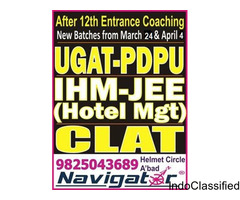 NAVIGATOR - UGAT NIRMA 2018 BBA entrance exam coaching in ahmedabad gujarat