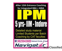 NAVIGATOR for IPM - IIM Indore mba entrance 2018 coaching class in ahmedabad gujarat