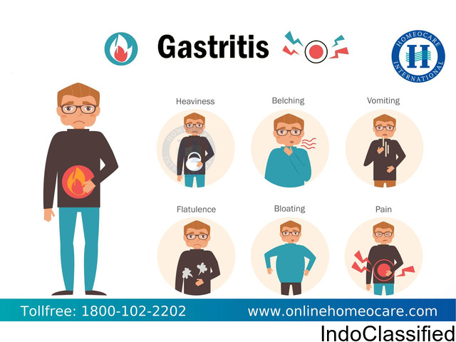NATURAL TREATMENT FOR GASTRITIS BY HOMEOPATHY