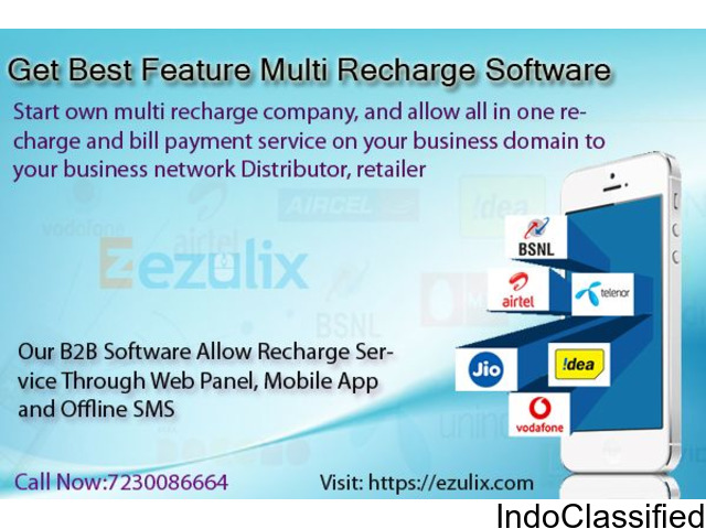 Get multi sim mobile recharge software service online
