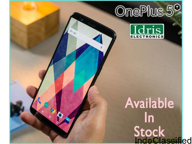 OnePlus 5T 6/64GB and 8/128GB variant Now Available In Idris Electronics