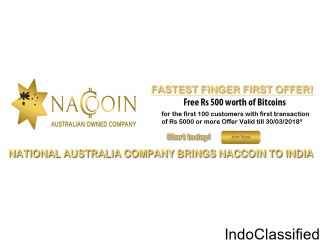 Naccoin - Buy Bitcoin at Lowest Price