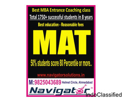 Best MAT coaching class in ahmedabad NAVIGATOR solutions