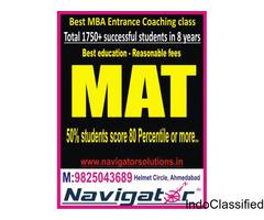 Best MAT coaching class in ahmedabad NAVIGATOR solutions