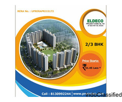 Eldeco Sector 150, Noida coming Soon  sports city 150 Noida