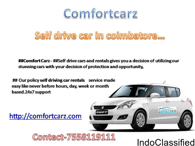 Self Driving and Car Rentals Service in Coimbatore