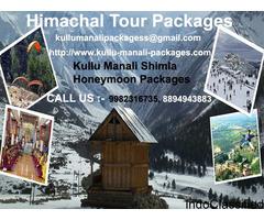 Kullu Manali Vovlo Packages,  Kullu Manali Shimla Honeymoon Packages