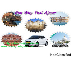 One Way Taxi Ajmer, One Way Taxi Service In Ajmer, Ajmer One Way Taxi Services