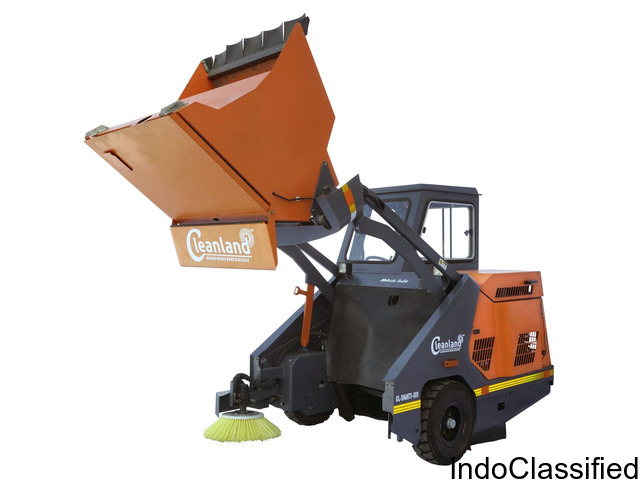 Latest Cleanland GL-SHAKTI-009 Model Premium Sweeping Machine