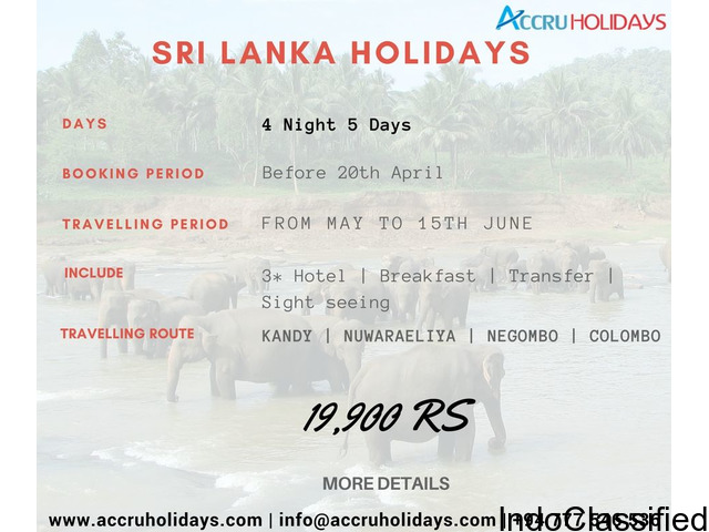 Sri Lanka Tour Packages