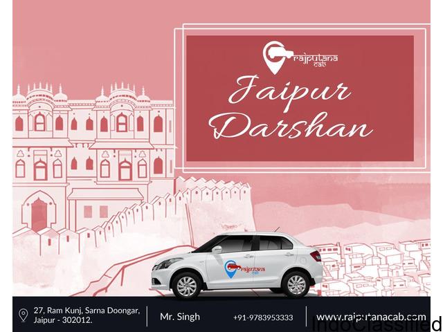 Best Jaipur sightseeing cab   Rajputanacab