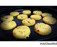 eggless saffron cookies recipe