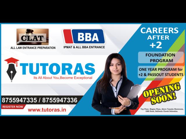 BBA/CLAT(LAW) Coaching Center In Dehraun