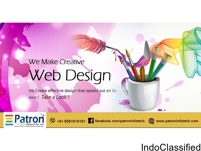 Website Design Patna | Website Development Patna - Patron Info Tech