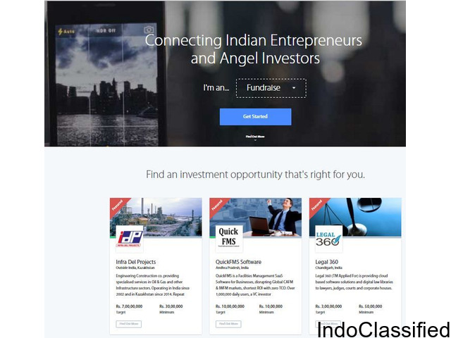 Find free service for investors in India.