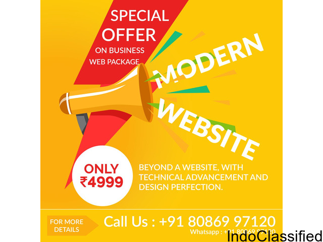 SOPHISTICATED WEBSITES AT LOW COST