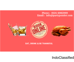 Restaurants dining tables deals in Delhi NCR- partyponder