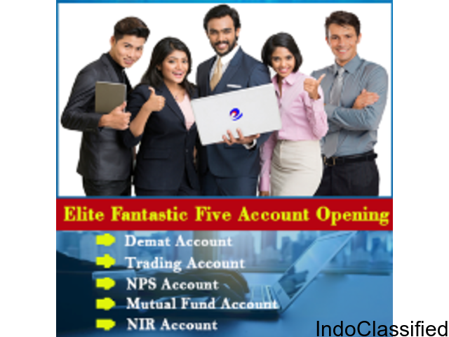 Demat and Trading Account without  any charges  for lifetime