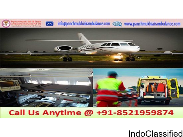 Pocket Budget Air Ambulance Service in Cooch Behar with Advanced Medical Facility