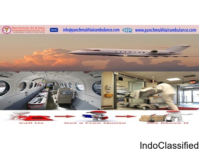 World Class of Medical Support by Panchmukhi Air Ambulance Service In Along