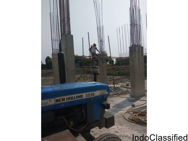 Ganmar Tractor Compressor breaker Hiring in Chennai India