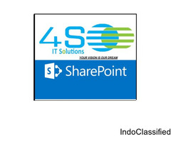 4S IT SOLUTIONS learn SharePoint from experts