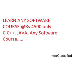 LEARN ANY SOFTWARE COURSE - RS.4500 ONLY