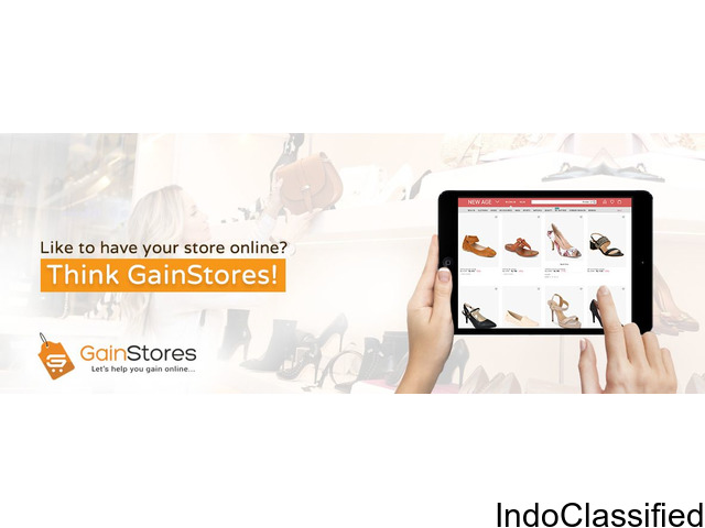 Build Your Own Online Store To Sell Products Online With GainStores