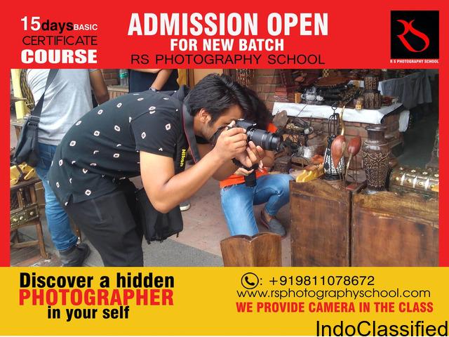 short term photography courses in delhi