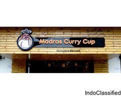 South Indian Restaurant  In Chennai - Madras Curry Cup
