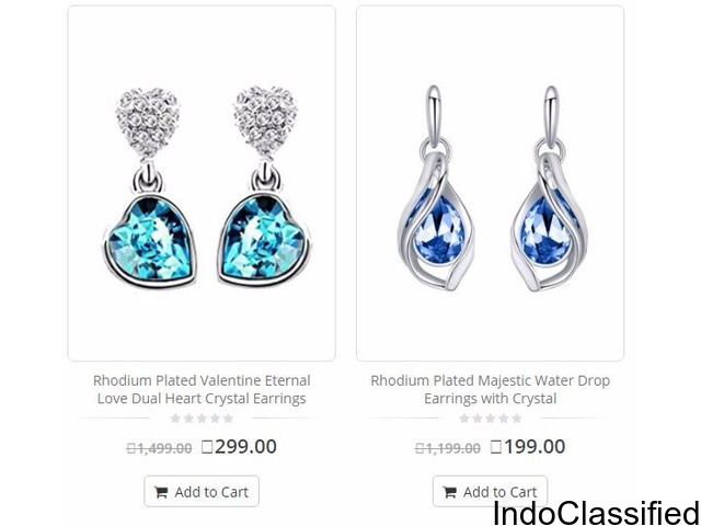 Earrings - Buy Earrings Online For Women/Girls at Best Prices In India