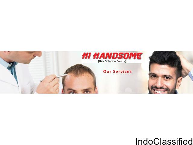 Best Hair Bonding in Patna | Hair Weaving in Patna | Hair Wig Clinic in in Patna - Hi Handsome Patna