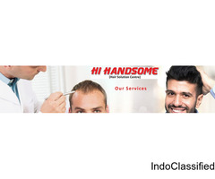 Best Hair Bonding in Patna | Hair Weaving in Patna | Hair Wig Clinic in in Patna - Hi Handsome Patna