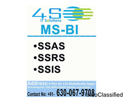 4S IT SOLUTIONS learn MSBI course from experts