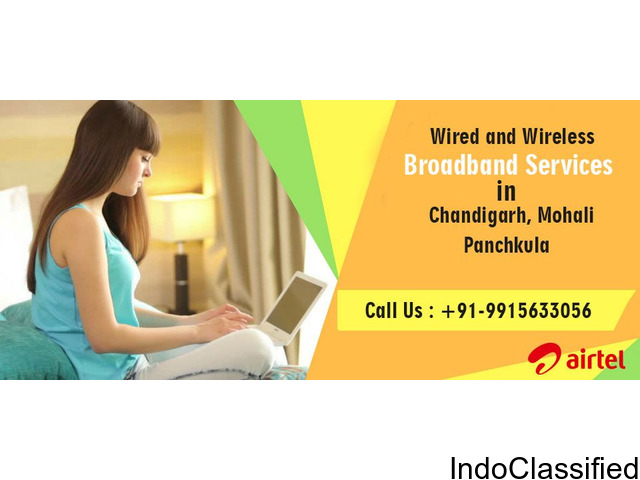 Airtel Broadband Service Plans Chandigarh