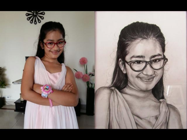 Portrait Artist in Delhi NCR - Narottam Sinha (Portrait Artist)