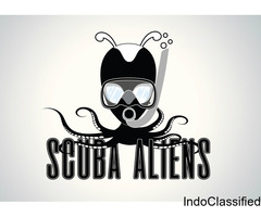 Scuba Aliens  | Diving Trips in Goa | Diving Packages | Diving Courses | Scuba Diving in India|