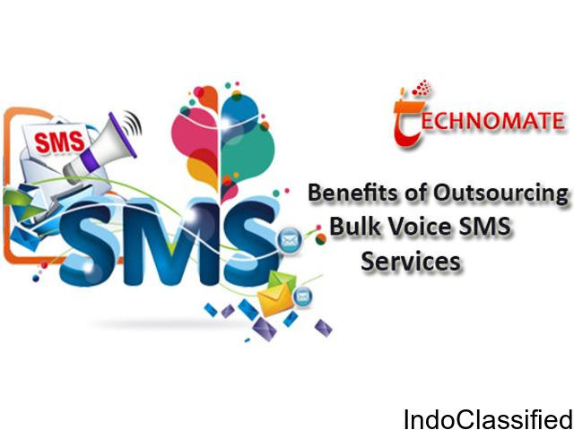Benefits of Outsourcing Bulk Voice SMS Services