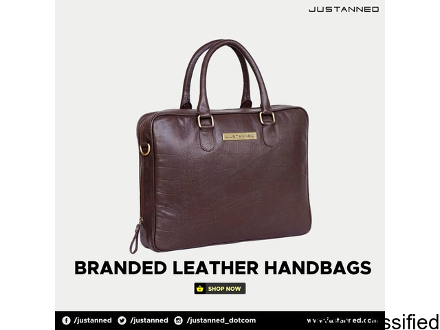 Leather bags at Online shopping India Look Amazing