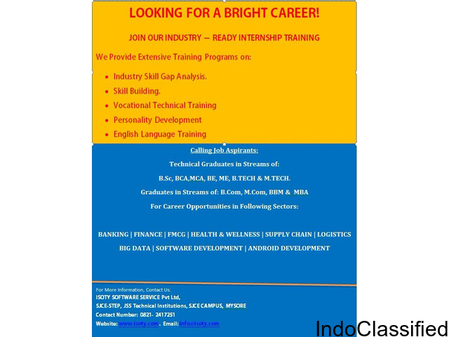 INTERNSHIP & SKILL BUILDING PROGRAM