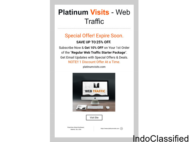 ATTN!! Get World Wide Traffic to Your Website and/or Online Business.