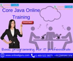 Core Java Online Course Hyderabad