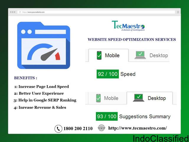 Best Website Page Speed Optimization Services Delhi
