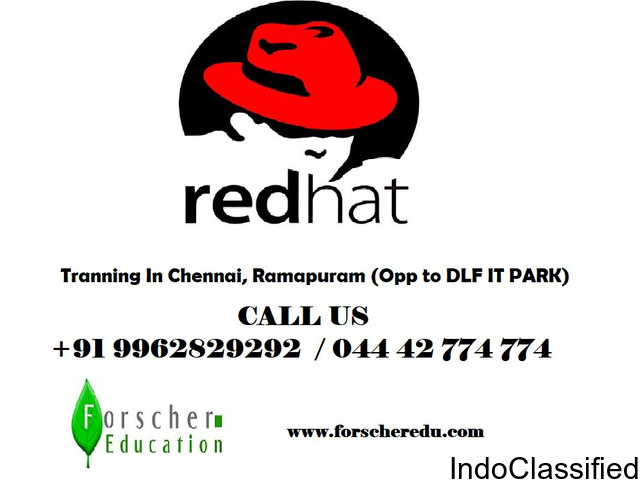 RedHat Training In Chennai Fully Practical Classes & 100% Placement Assistant