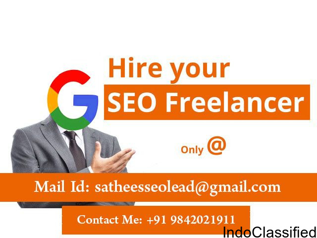 Top Rated SEO Freelancer in Bangalore City - 9842021911